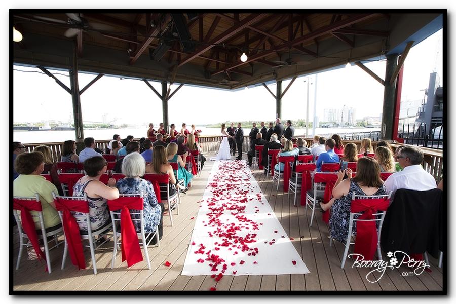 Florida Aquarium wedding 10
