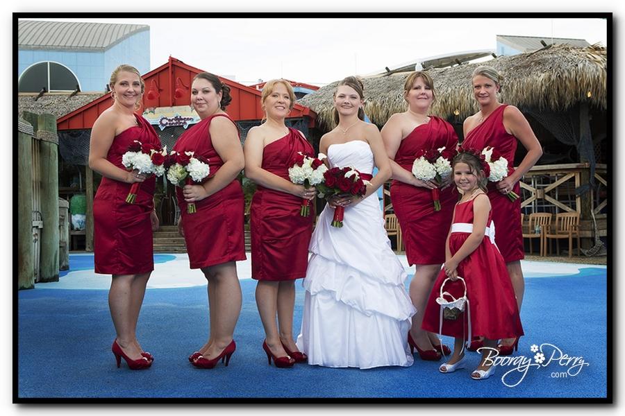 Florida Aquarium wedding 15