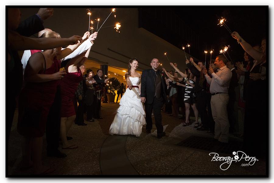 Florida Aquarium wedding 29