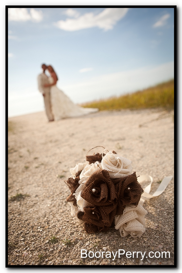 sand key beach wedding 1