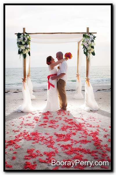 tampa bay beach wedding